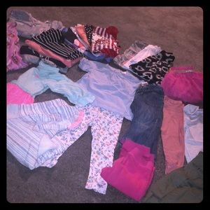 Lot of 2T girls clothes!
